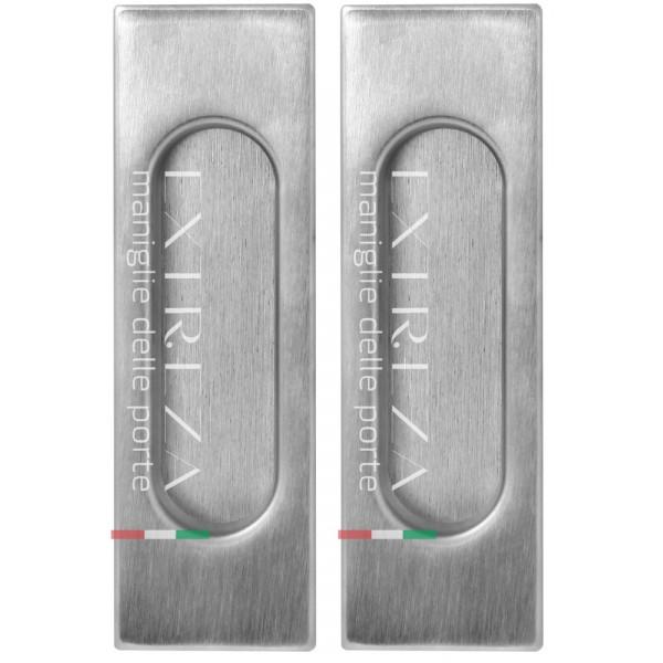 Дверная ручка купе Extreza Hi-tech «P401» матовый хром F05